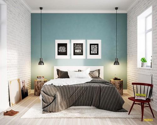 Chọn vị trí giường ngủ hợp lý sẽ đem lại một giấc ngủ sâu và tinh thần thoải mái